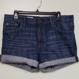 Gap Cuffed Denim Shorts